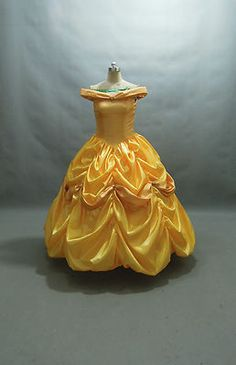For Sydney :)Disney Dress Beauty and Beast Belle Costume Adult Size 6 8 10 12 14 16 Yellow Disney Costumes, Girl Costumes, Adult Costumes, Costume Ideas, Halloween Costumes, Disney Dresses, Disney Outfits, Disney Clothes, Beauty And The Beast Dress