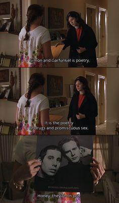 Simon & Garfunkel is poetry!