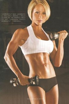 Jamie Eason. Have always been a fan of hers!