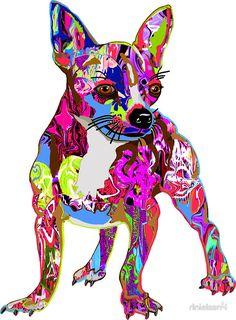 Graffiti Dog sticker