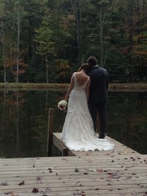 Mohican barn wedding - i found my spot! I LOVE this place!!