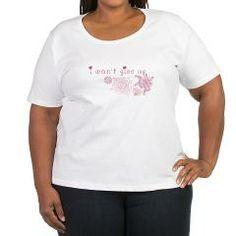 Women's Plus Size Scoop Neck T-Shirt> Pour femmes > Emotions in vitro // La boutique #infertility I won't give up