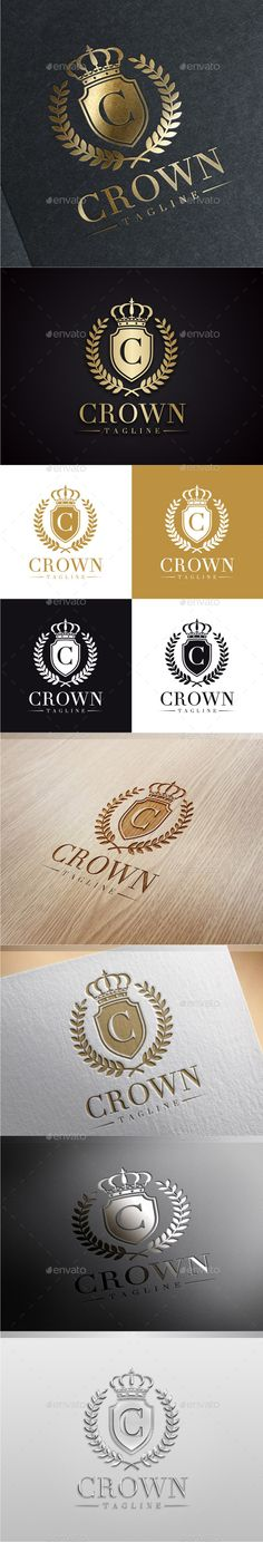 Crown Luxury Logo Template #design #logotype Download: http://graphicriver.net/item/crown-luxury-logo/9603174?ref=ksioks