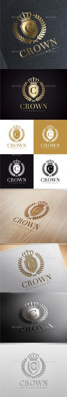 Crown Luxury Logo Template #design #logotype Download: http://graphicriver.net/item/crown-luxury-logo/9603174?ref=ksioks