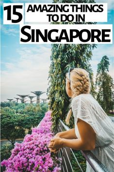 15 Things to do on a 24 Hour Singapore Stopover Things to do in Singapore // Singapore Layover / Travel in Singapore / Travel Asia // Singapore Bucket List / Singapore . Best Places In Singapore, Singapore Travel Tips, Singapore Tour, Singapore Itinerary, Singapore Changi Airport, Singapore Garden, Singapore Botanic Gardens, Singapore Photos, Visit Singapore