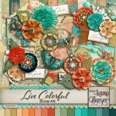 Live Colorful Scrap Kit