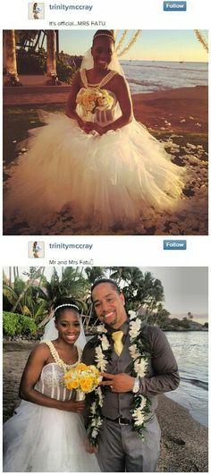 The uso wedding