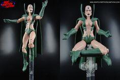 "Some more shots of my custom 6"" Marvel Legends Moondragon action figure."