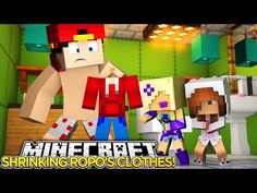 SHRINKING ROPO'S CLOTHES w BABY ELLIE! -Minecraft Adevnture- Roleplay- - YouTube