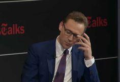 Tom promotes Crimson Peak on TimesTalks