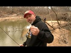 Tips on Crappie fishing from the bank! - YouTube