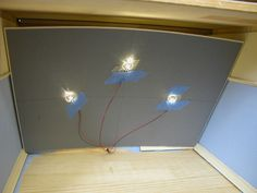 LED wiring for Dollhouse Miniatures