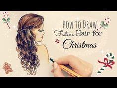 Drawing Tutorial How to draw and color Green Eyes Front Hair Styles, Curly Hair Styles, Hair Front, Kristina Webb Art, Art Sketches, Art Drawings, Realistic Drawings, How To Draw Hair, Step By Step Drawing