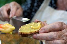 spreading garlic mayonnaise by David Lebovitz, via Flickr