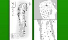 Image result for yardage book template   Yardage Guides   Pinterest ...