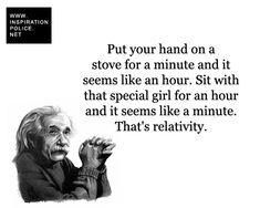 That's relativity