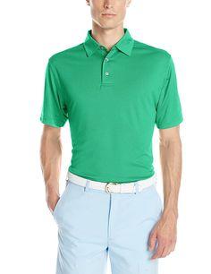 PGA Tour Men's Golf Performance Short Sleeve Polo Shirt
