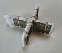 ...And Then We Set It On Fire: Shibori Folding - no 12