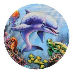 """Ocean Life Paper Plates, 7"""", 20-ct. pack"""