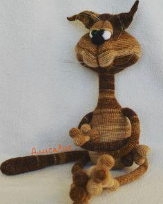 120 Cat Ostap Crochet Pattern by LittleOwlsHut. Брат близнец Остапа #остап #kot…