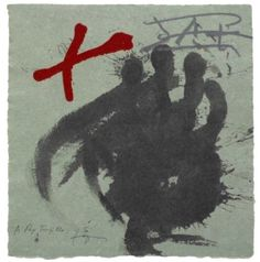 Artist: Antoni Tàpies,  title: Antoni Tàpies,  technology Serigraph, aquatint, Vernis Mou