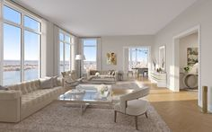 First came the floorplans, now come the renderings. Behold, the first look inside the future condos of 30 Park Place, currently rising in Downtown Manhattan (h/t BuzzBuzz Home). The 82-story,...