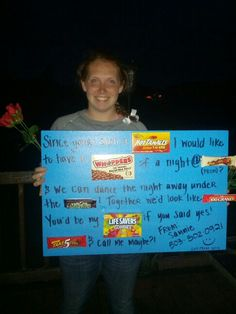 Asking him to prom :)