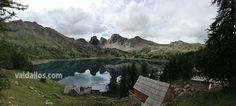 Lac d'Allos, le plus grand lac naturel d'altitude d'Europe. #valdallos www.valdallos.com