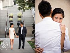 Kathryn & Will, LACMA Engagement Session, Los Angeles Wedding Photographer http://www.BandGphotography.com