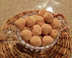 Witte chocolade truffels