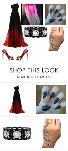 """Prom"" by zane-silvermane ❤ liked on Polyvore featuring De Beers"