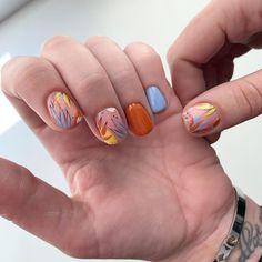 Fancy Nails, Cute Nails, Korea Nail Art, Hair And Nails, My Nails, How To Cut Nails, Gelish Nails, Trendy Nail Art, Minimalist Nails