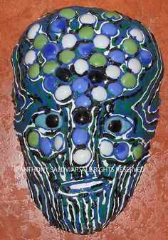 Tree of Life Mask with Glass Stones by Anthony by AnthonySaldivar, $119.99
