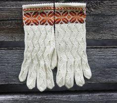 Wool gloves.