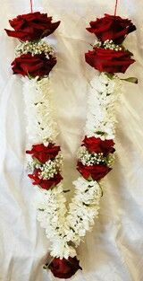 Wedding Garland With Lilies