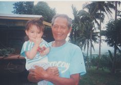 My grandfather and I. Like this colour palette
