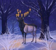 Winter Nights by sighthoundlady.deviantart.com on @deviantART