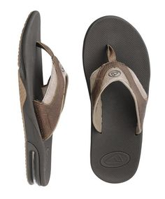715b86d98 REEF LEATHER FANNING FLIP FLOPS 2015 The Leather Fanning is a leather  version of the super