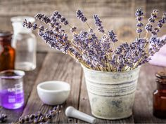 Lavender essential oil is produced by the lavender plant and is the source of its power. It is the most often used essential oil in the world. Find out how to use it for yourself! Purifier, Lavender Flowers, Drying Herbs, Potpourri, Herbalism, Essential Oils, Homemade, How To Make, Kitchen Witchery