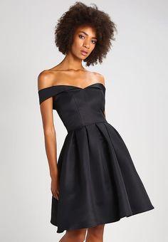 Chi Chi London BECKY - Sukienka koktajlowa - black - Zalando.pl