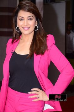 Madhuri Dixit snapped on the sets of So You Think You Can Dance