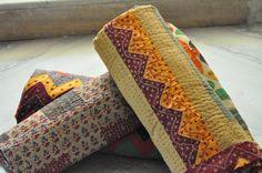 Kantha work quilt.