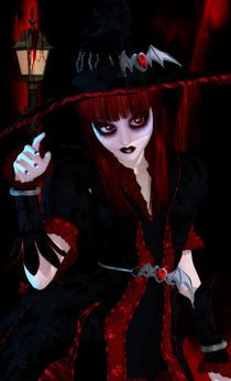 Red Witch by sisterofdarkness