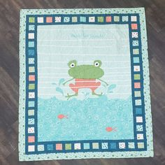 Join Misty in the replay of Missouri Star Live as she stitches up a Ready Set Splash panel quilt! This quick and easy project is perfect for a simple summer children's quilt and comes together in a flash! Follow the link below to watch the live replay now! #missouristarquiltco #missouristarlive #readysetsplash #panelquilt #quilting #sewing #howtoquilt #summer #frogs #frogaesthetic #freequiltpattern #rileyblake #msqc #cheaterquilt #easyquilttutorial #quiltingtutorial