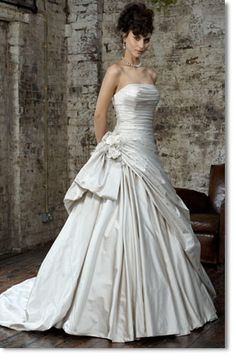 Ian Stuart FLORENTINA - A little too plain, and too much satin, but I like the gathering at the hip