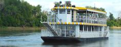 The golden age of riverboats may be over, but this riverboat cruise lets you see the Missouri River in a charmingly old fashioned way.