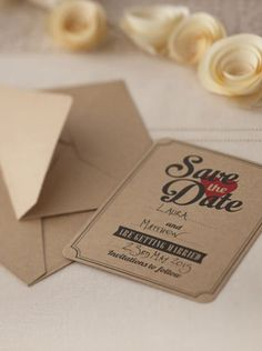 Vintage affair save the date cards - Wedding Shop South Africa Wedding Stationary, Wedding Invitations, Save The Date Cards, Card Sizes, Wedding Cards, Dates, South Africa, Affair, Place Card Holders