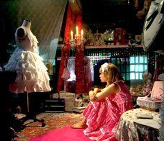 an entire lolita room