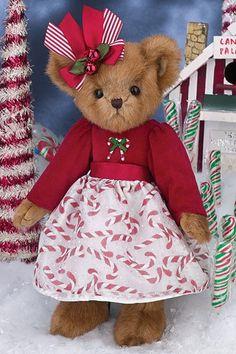 "Bearington Bears Merry Mint Christmas Bear 14"" Item# 173227 $29.95"