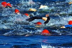 Why people panic in an open water swim and how to deal with it